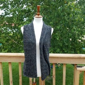 Maurices Grey Vest Cardigan